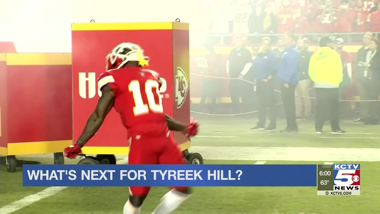 Chiefs avoid answering questions about Tyreek Hill during Monday call with reporters
