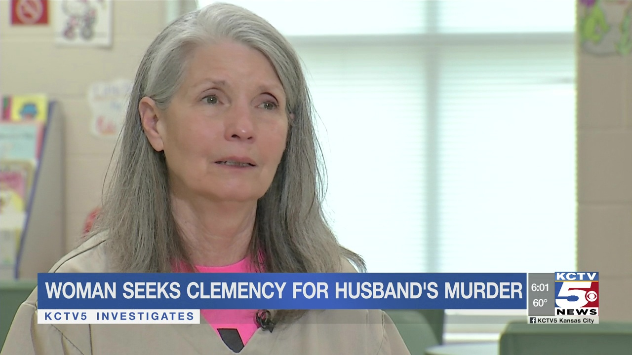Missouri woman seeks clemency for husband's murder