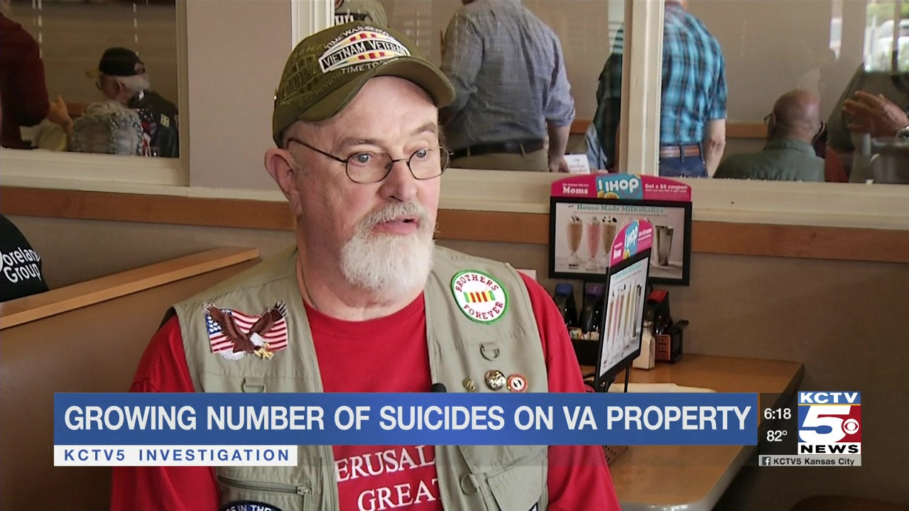 A growing number of suicides are on VA property