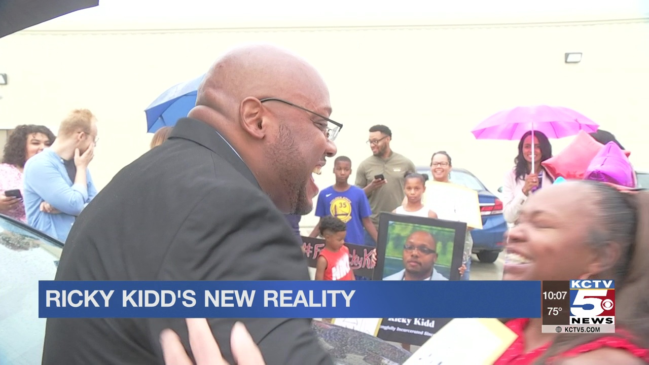 Ricky Kidd's new reality after 23 years in prison