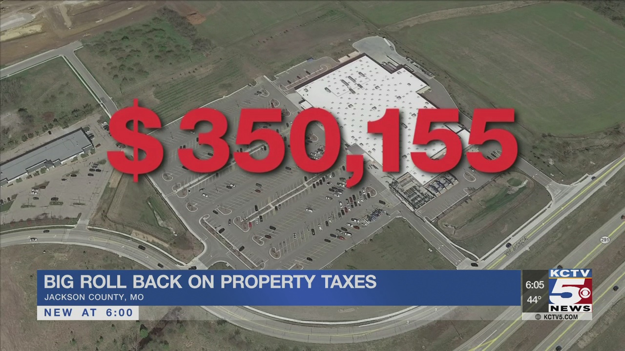 Big roll back on property taxes