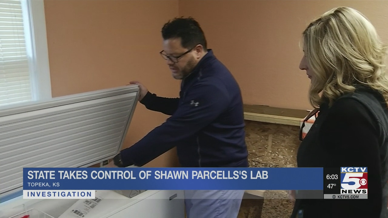 State takes control of Shawn Parcells' lab