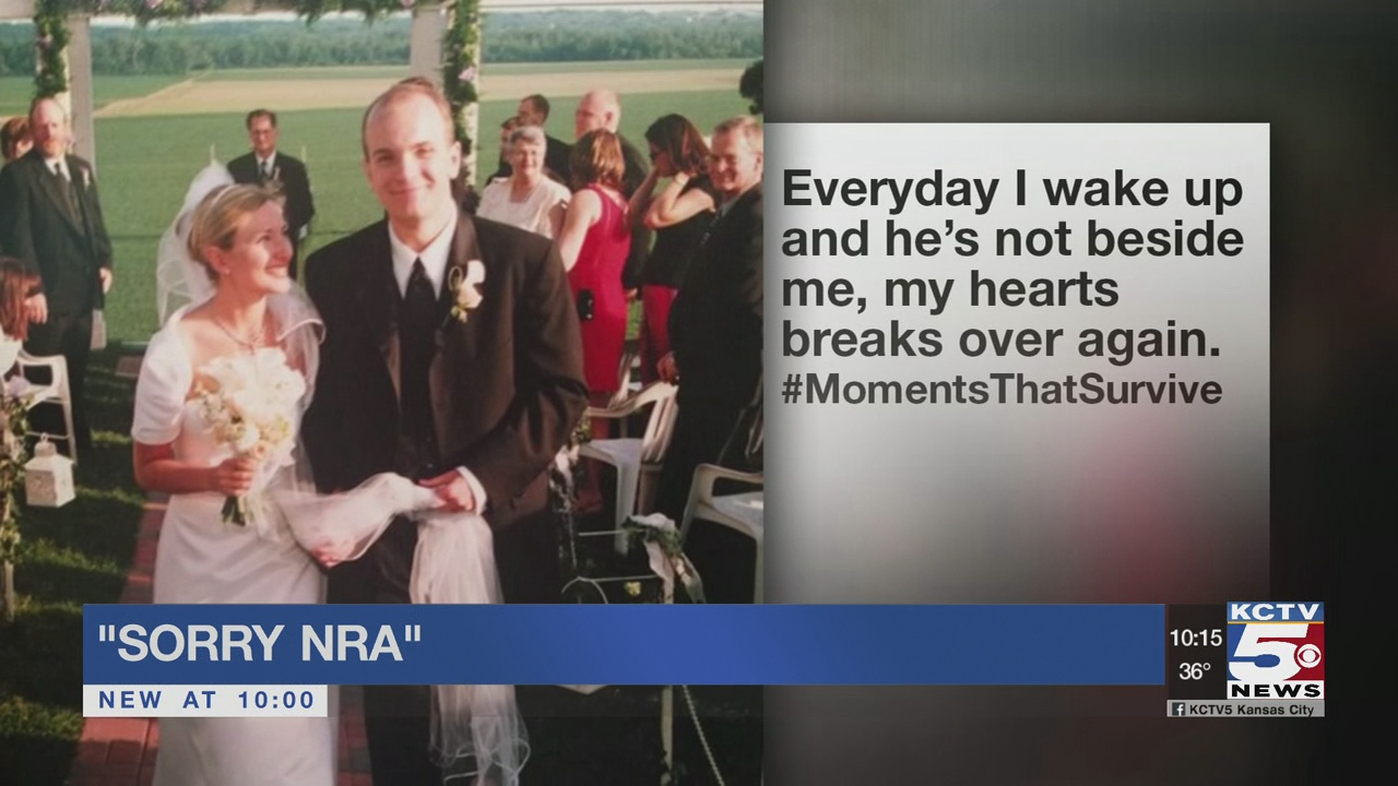 Kansas City widow takes aim at the NRA for sending her mail to her deceased husband