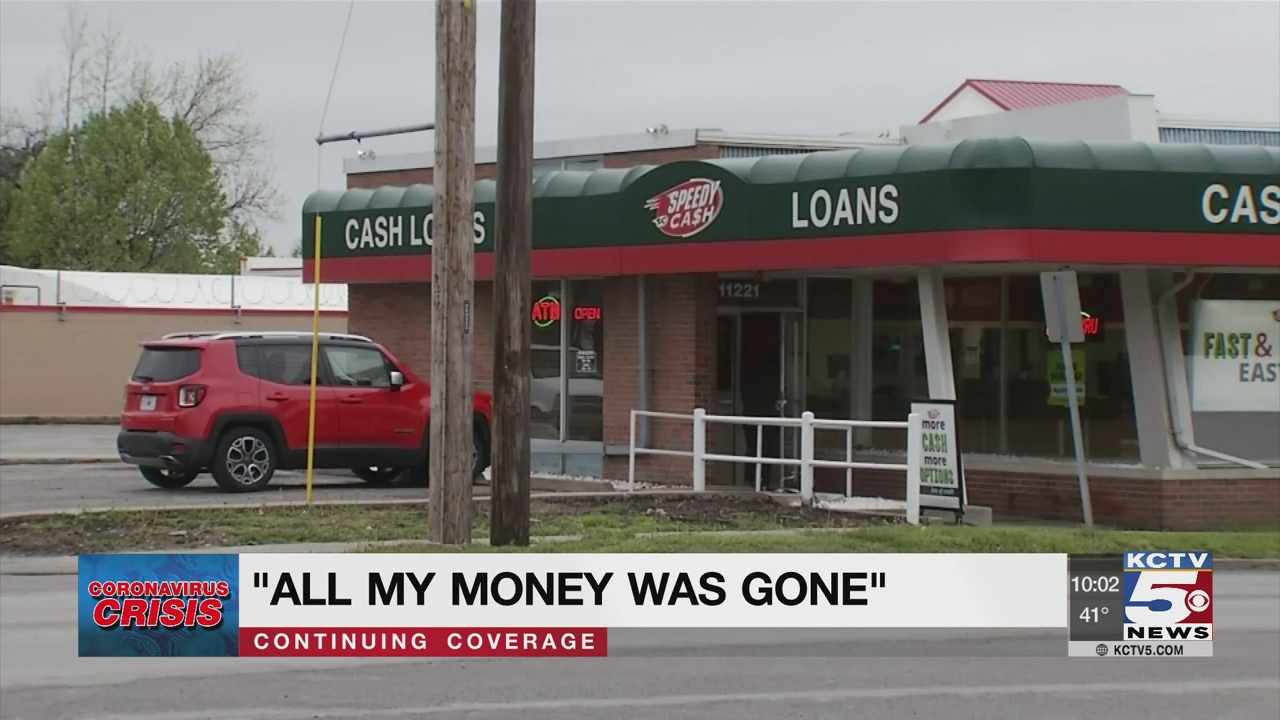 Laid-off waitress says fast-cash lender seized her COVID stimulus payment
