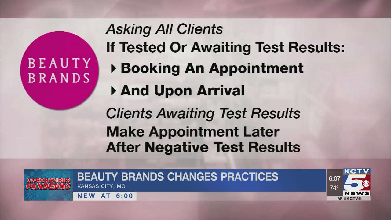 Beauty Brands changes policy after KC customer visits store, learns of positive results