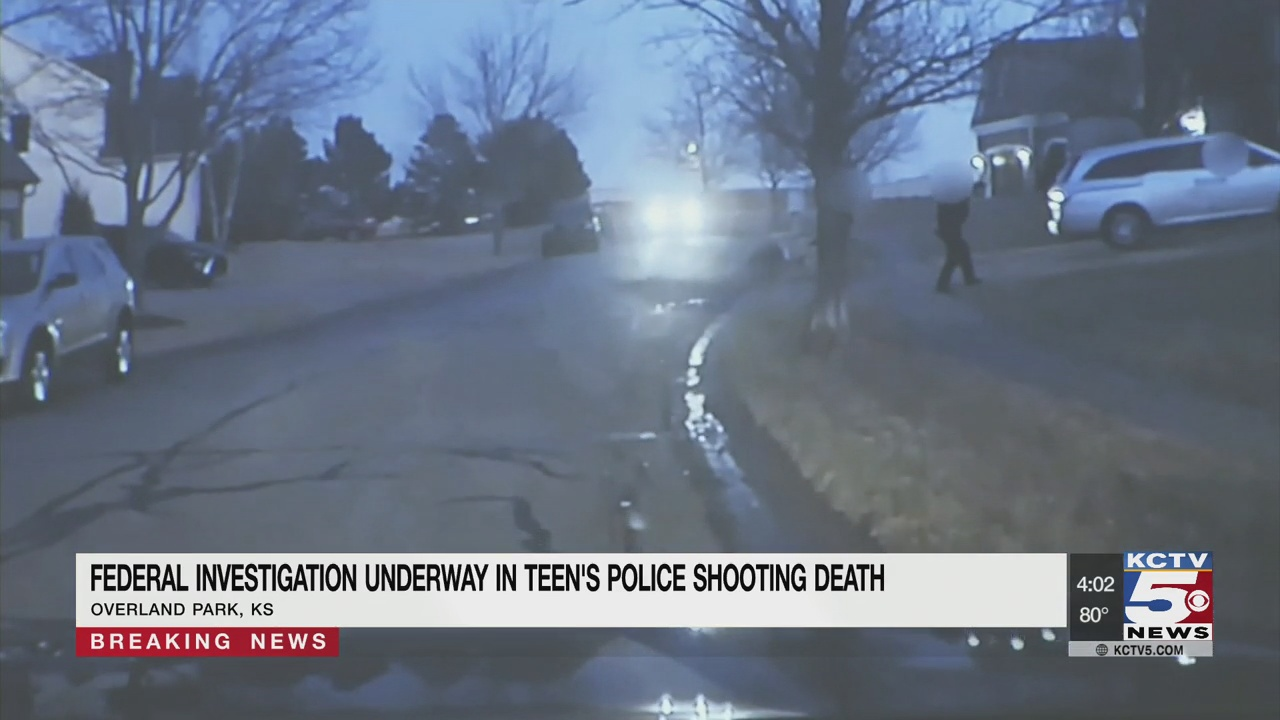 Federal investigation underway into teen's police shooting death