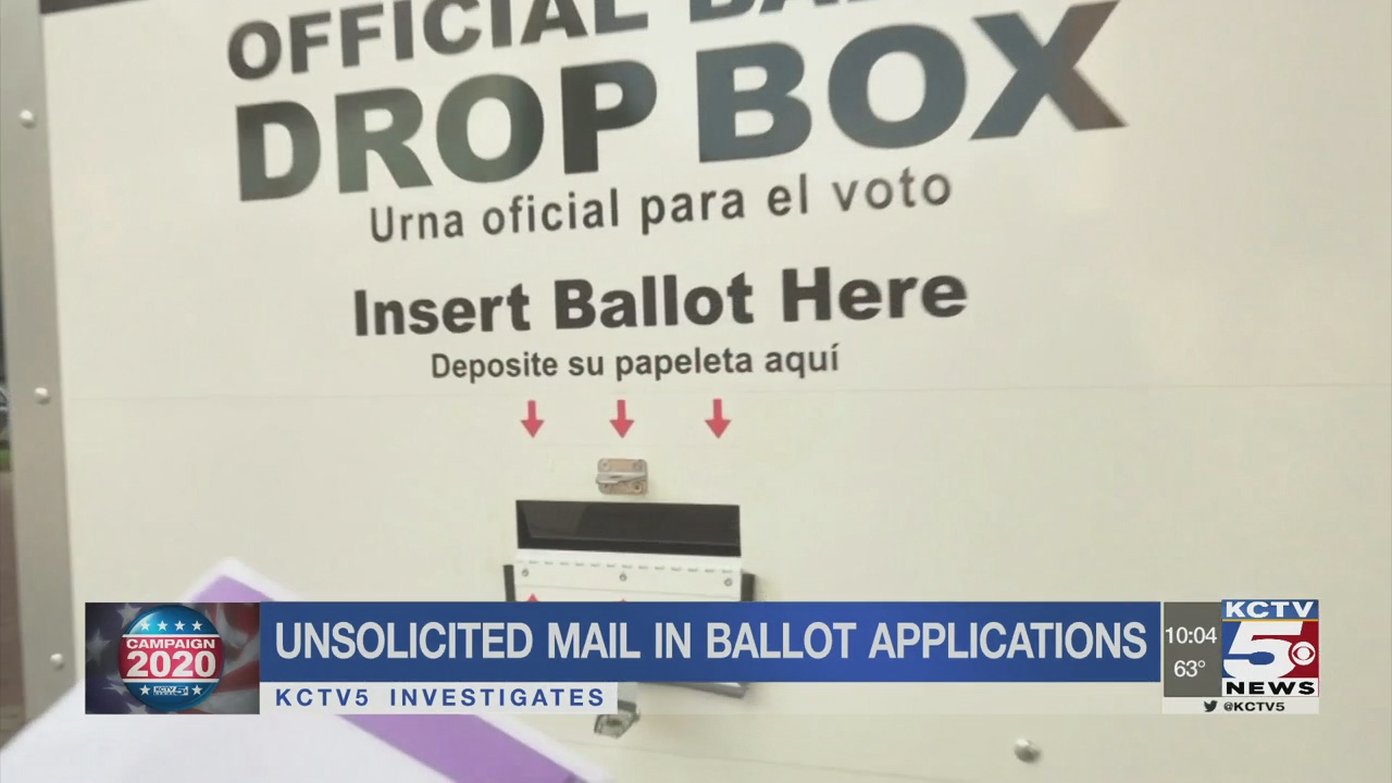 Some locals receive mail-in ballot solicitation they didn't ask for
