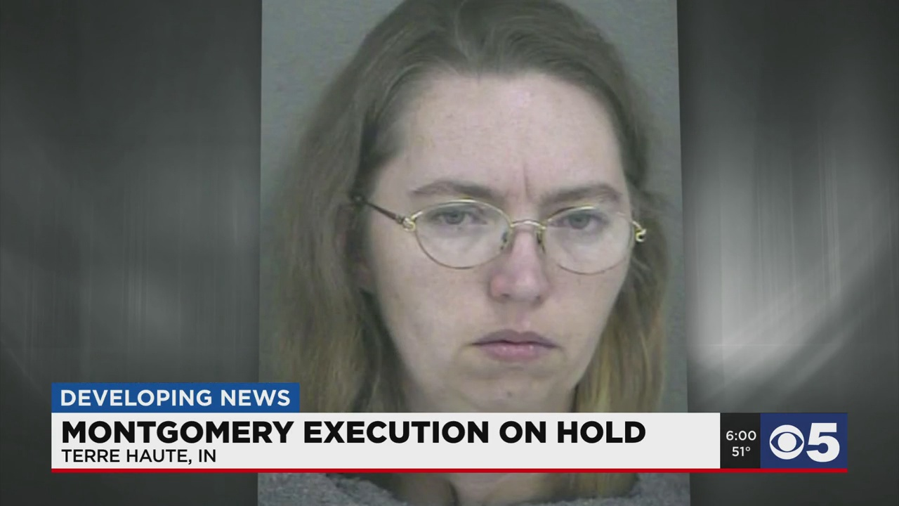 Execution of Lisa Montgomery on hold