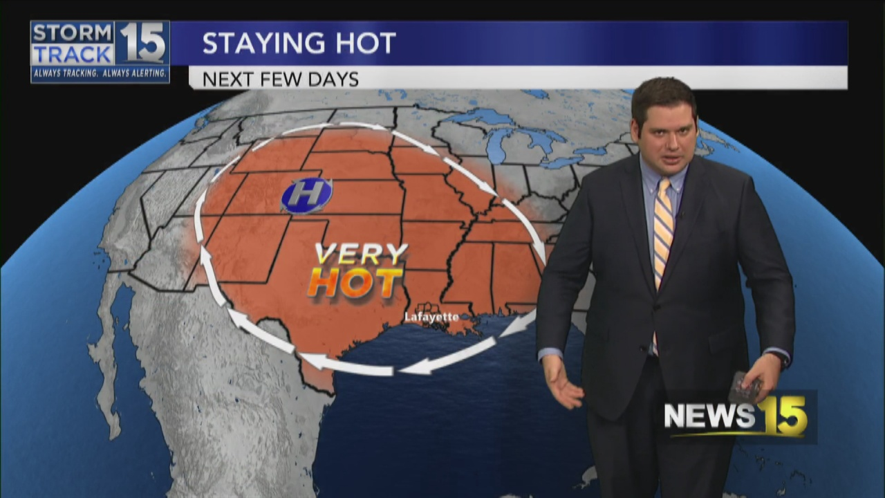 Image for More Hot Weather to End the Week
