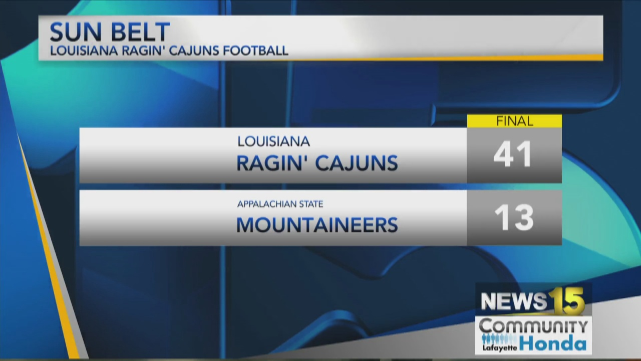 Image for Cajuns Beat App State