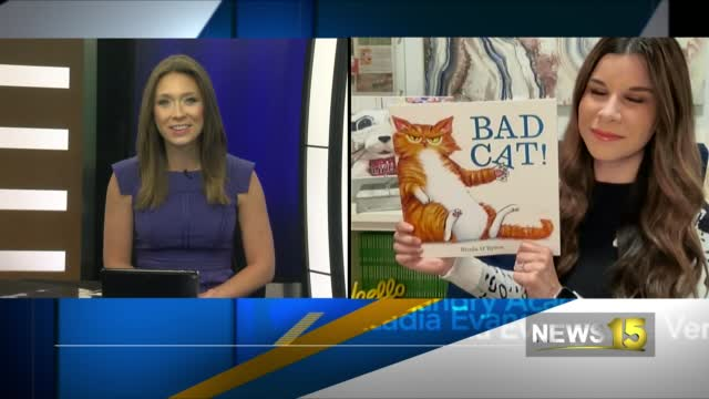 Image for Kid Lit Pick Of The Week: Bad Cat! by Nicola O'Byrne