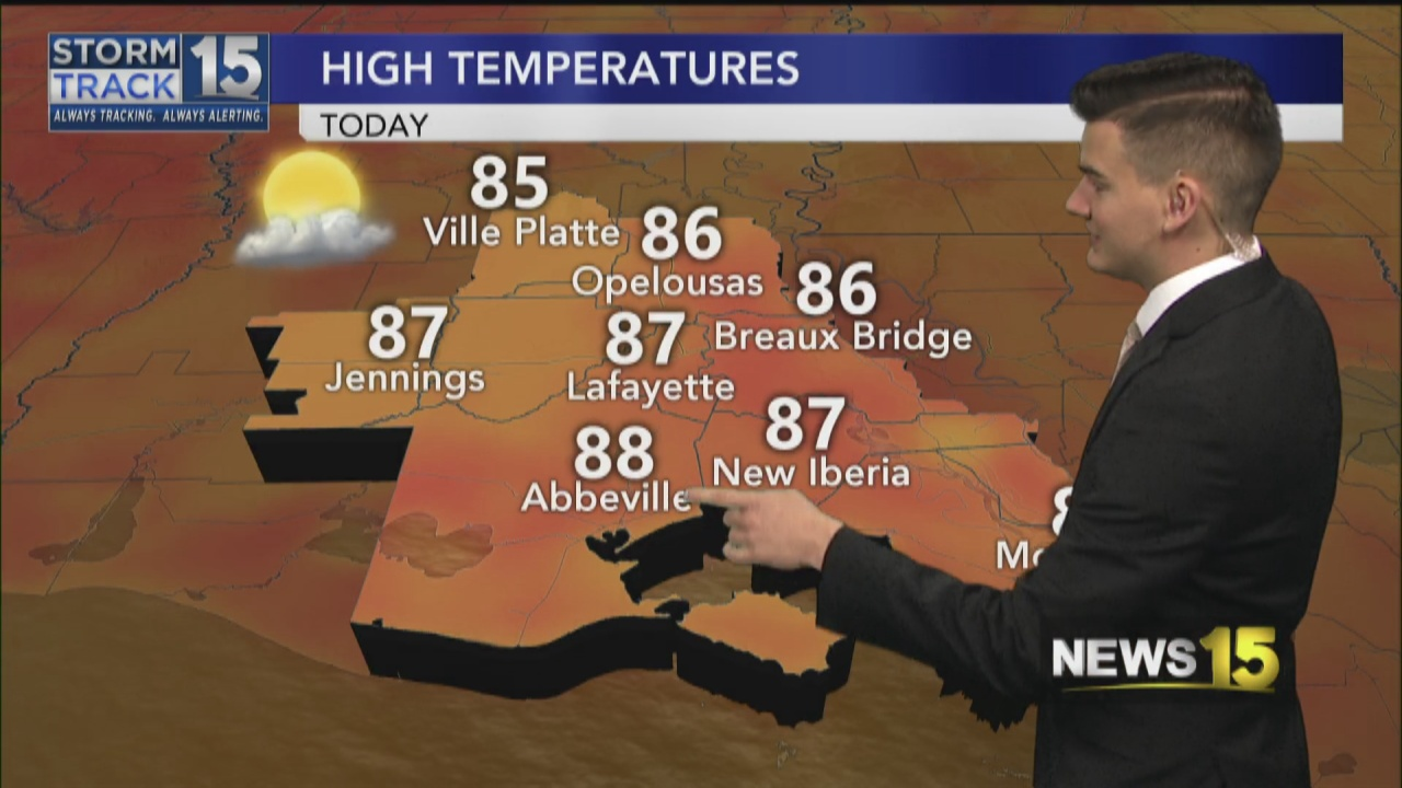 Image for More Nice Weather Around Acadiana