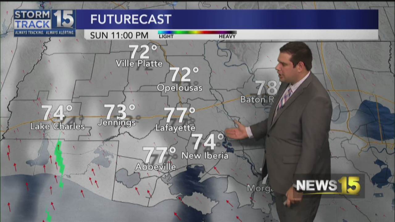 Image for Muggy and Warm Sunday Weather on the Way