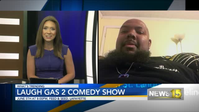 Image for Prepare To Laugh at The Laugh Gas Comedy Show In Lafayette