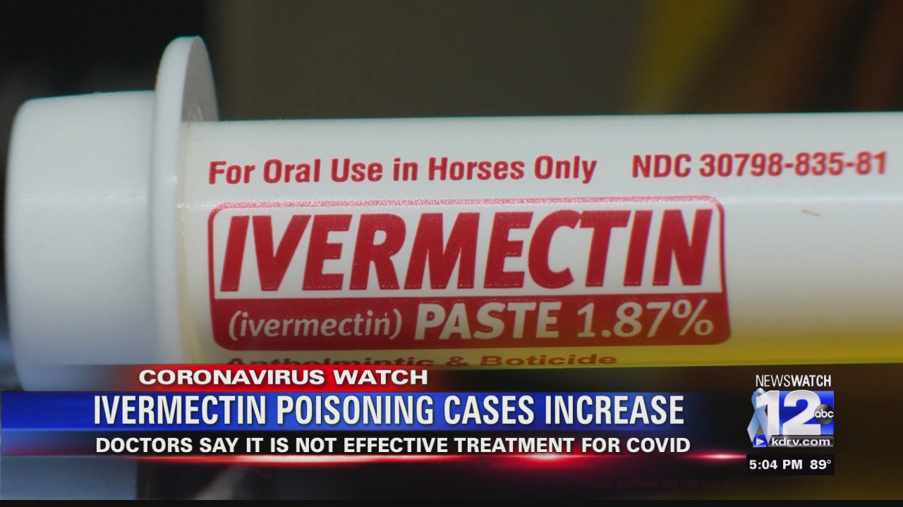Image for Ivermectin poisoning cases shot up in August, Oregon Poison Center says