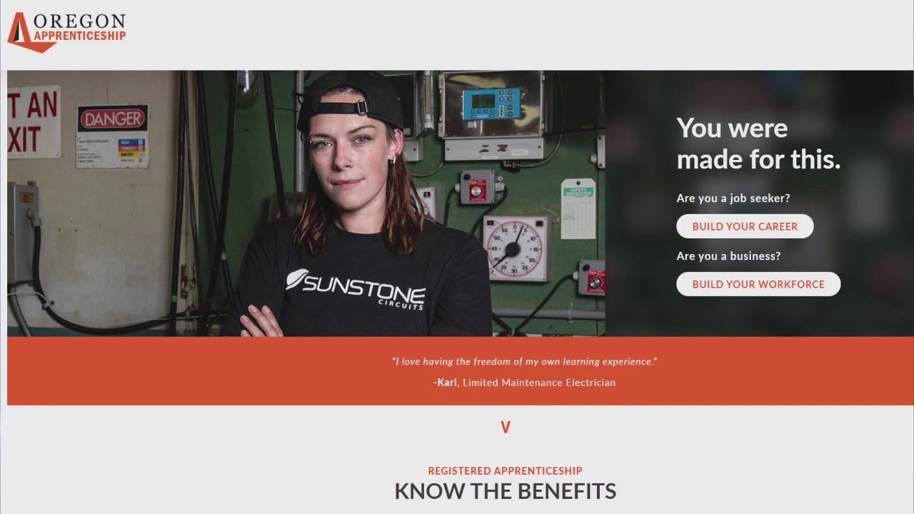 Image for State website helps workers find trade apprenticeships