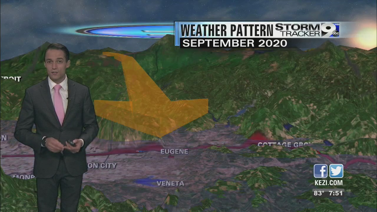 Image for What weather conditions led to the 2020 Labor Day fires?