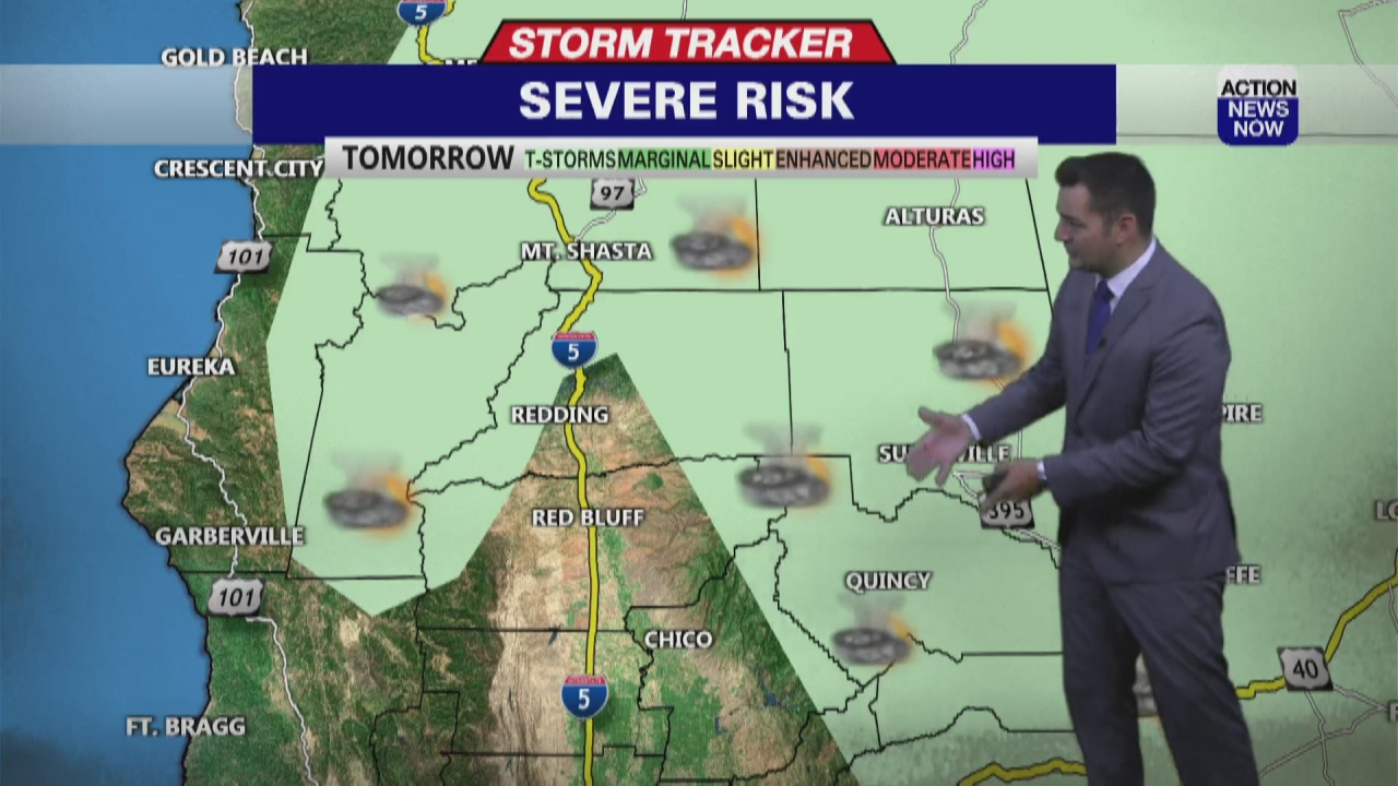 Image for Storm Tracker Forecast: Mostly sunny & much hotter Wednesday