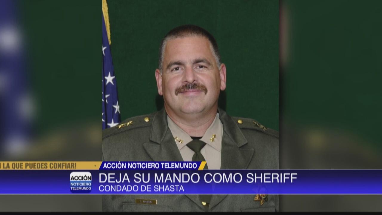 Image for  Sheriff del condado de Shasta deja su mando