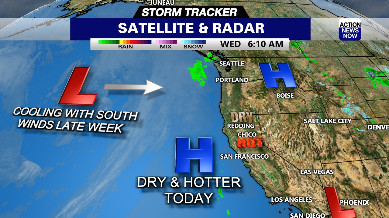 Image for Storm Tracker Forecast: Toasty temperatures ahead for your Wednesday