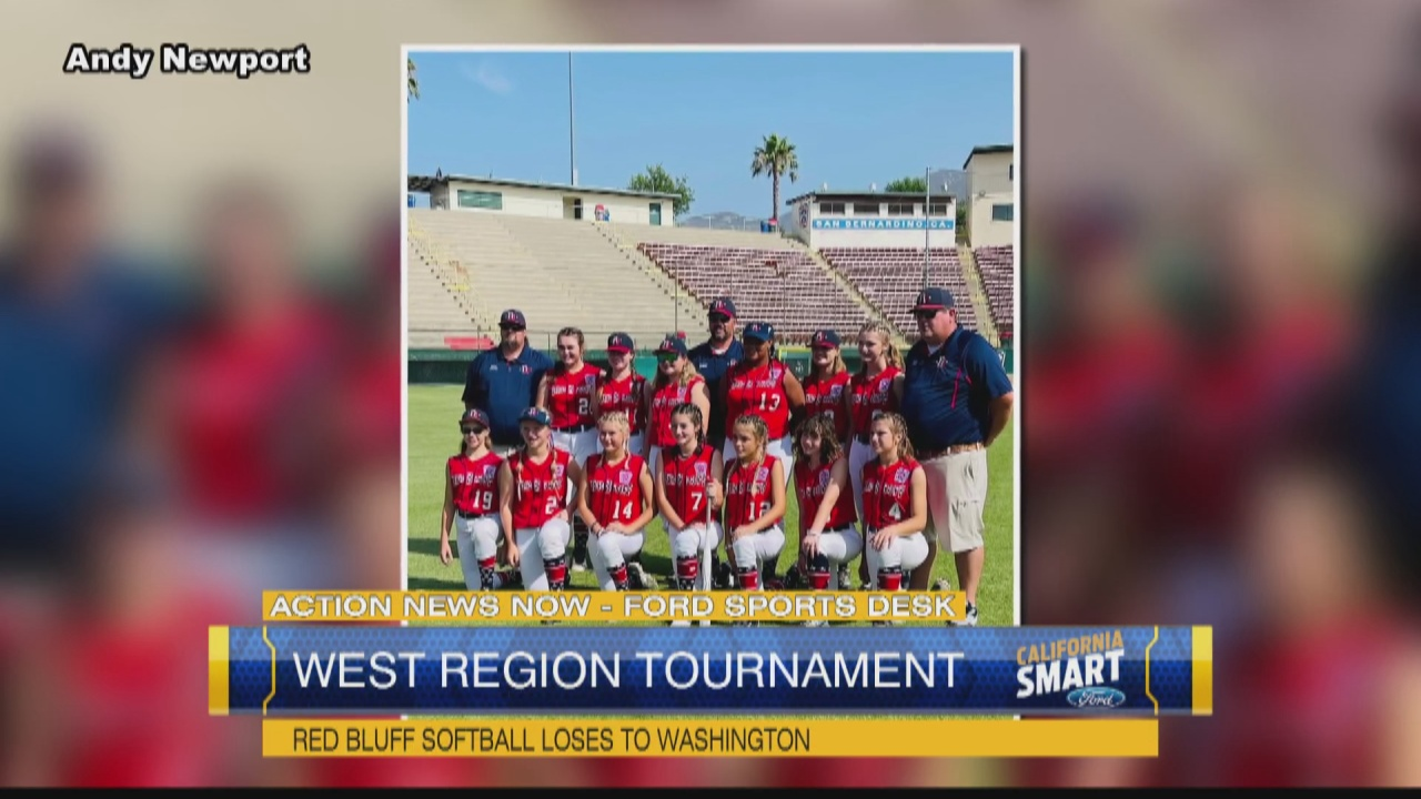 Image for Red Bluff All-Star Softball ends West Region tournament run