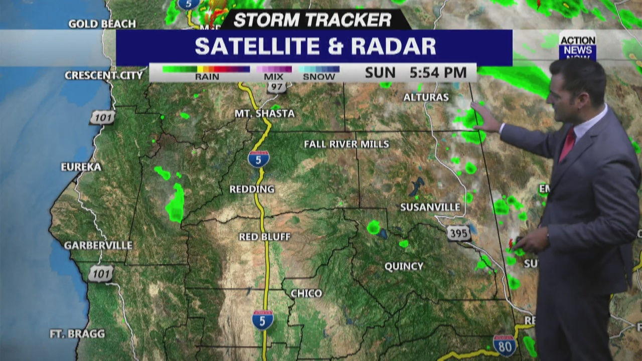 Image for Storm Tracker Forecast: Dry & toasty first week of August