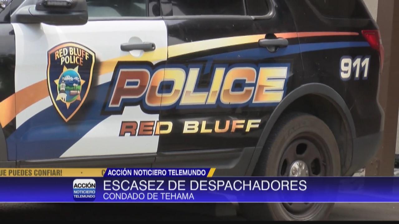 Image for Escasez de despachadores en Tehama para emergencias