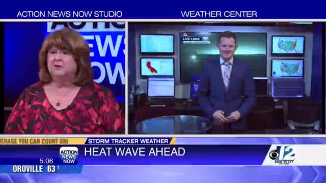 Image for Storm Tracker Forecast: Heat cranks up this week