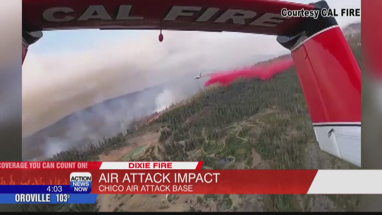 Image for CAL FIRE air operations playing crucial role in fighting Dixie Fire