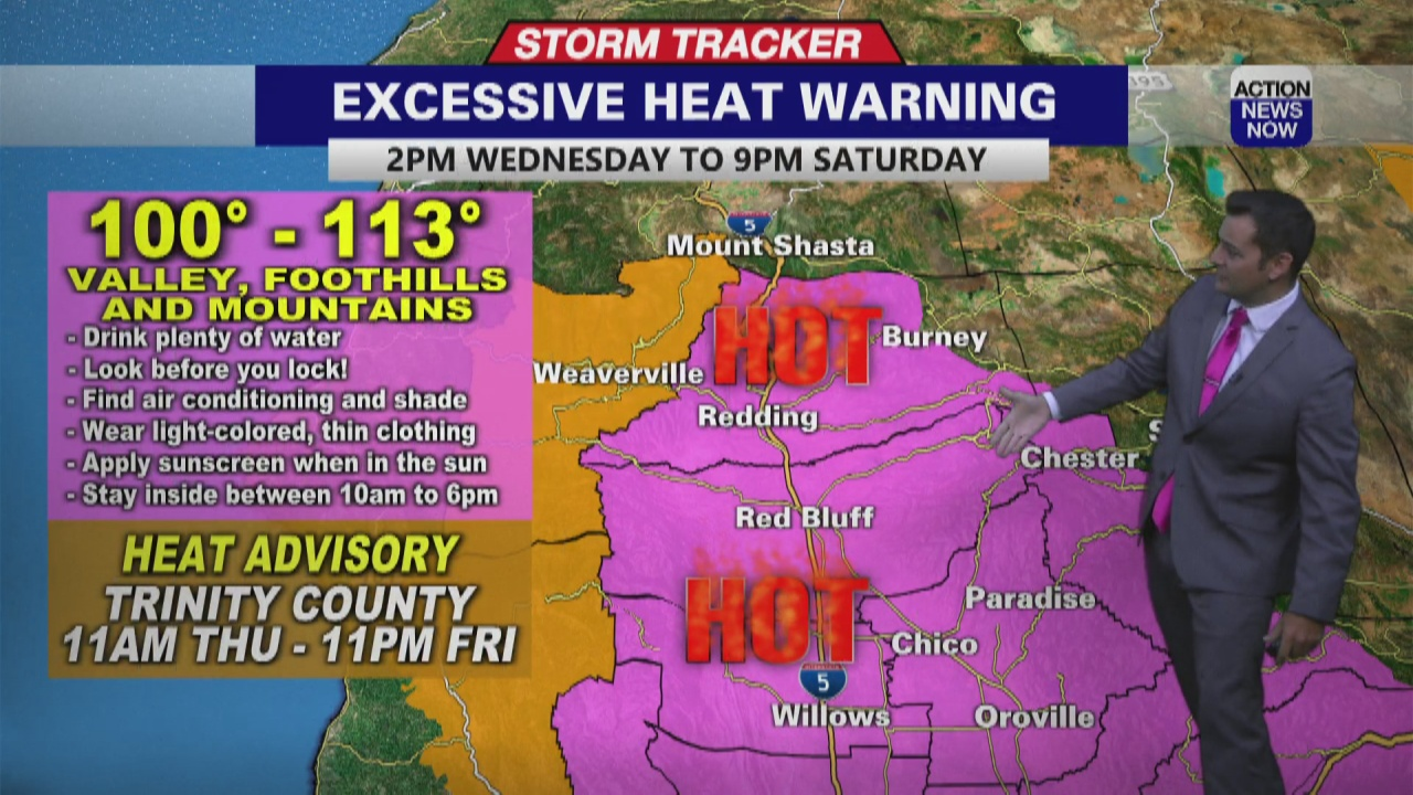 Image for Storm Tracker Forecast: Excessive Heat Warning starts today for dangerous heat ahead