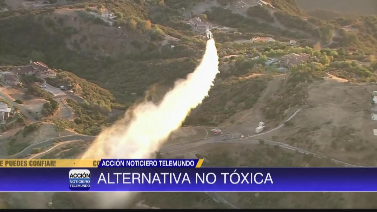 Image for Compañía ofrecen retardante no tóxica para incendios