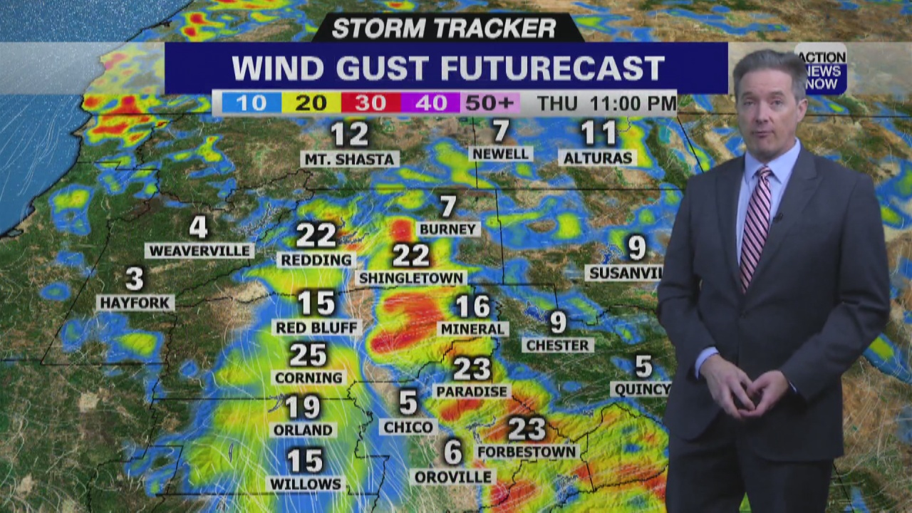 Image for Storm Tracker Forecast - Continued Hot Friday With Weaker Wind