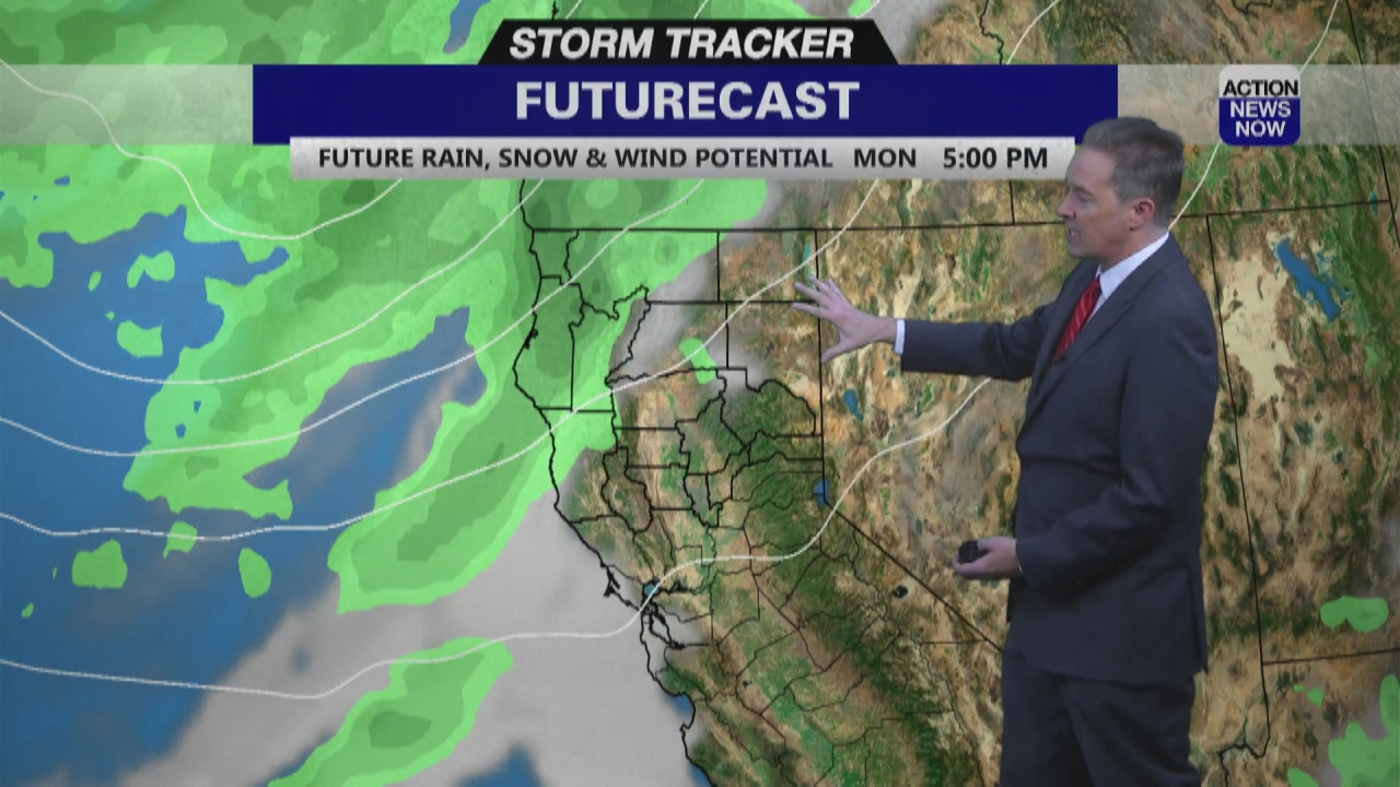Image for Storm Tracker Forecast - Weekend Cooling Trend With A Storm Coming