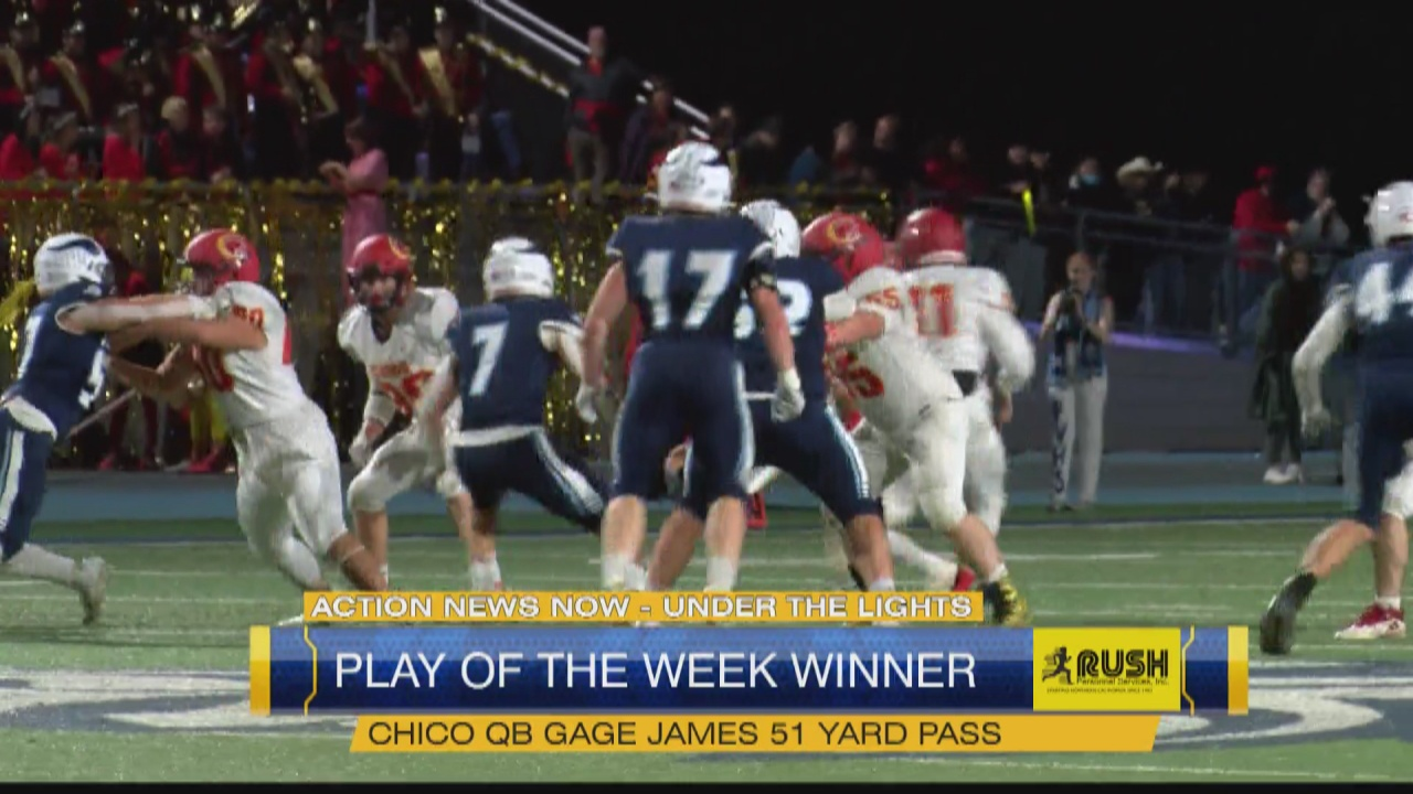 Image for Week 8 Play of the Week: Chico High School