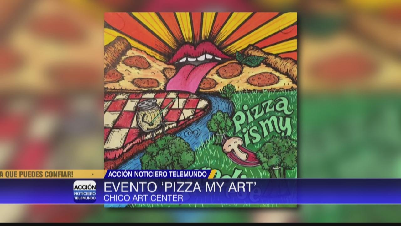 Image for Evento 'Pizza My Art' para recaudar fondos en Chico