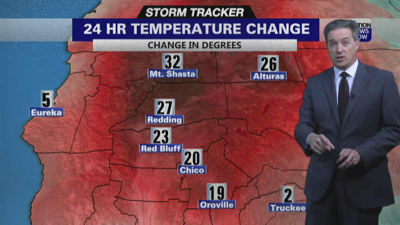 Image for Storm Tracker Forecast - Sizzling And Smoky Valley, Iso'd Mountain Storms