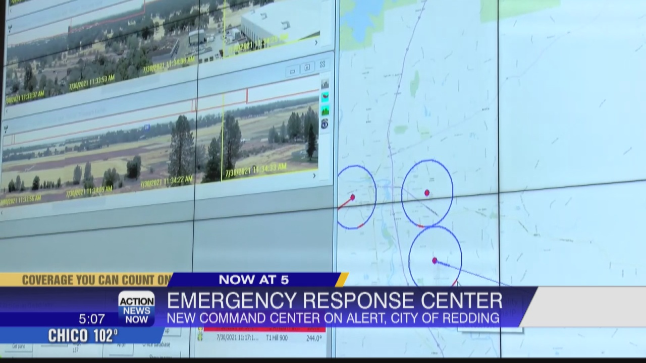 Image for City of Redding sets up Emergency Operation Command Center