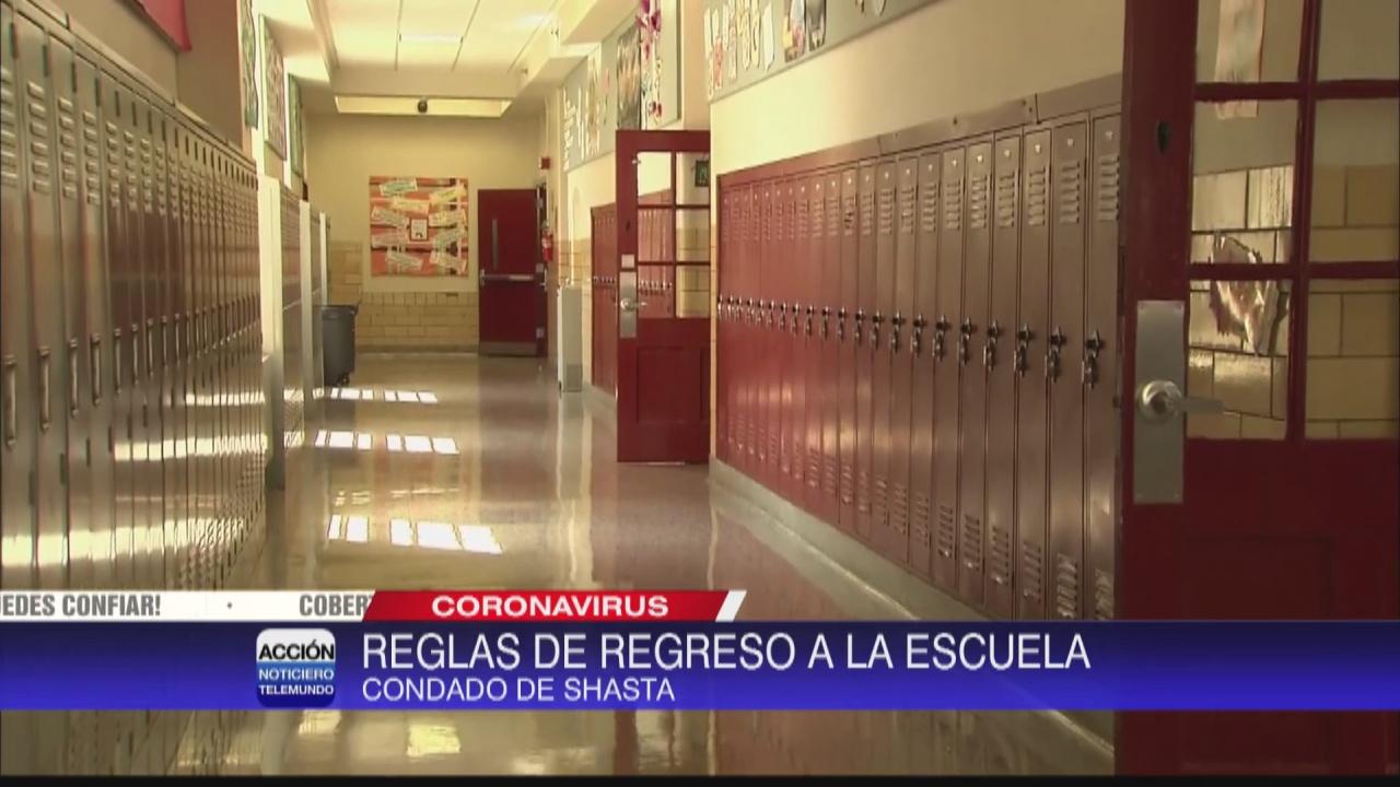 Image for Distrito escolar de Shasta solicita estudiantes usar máscaras