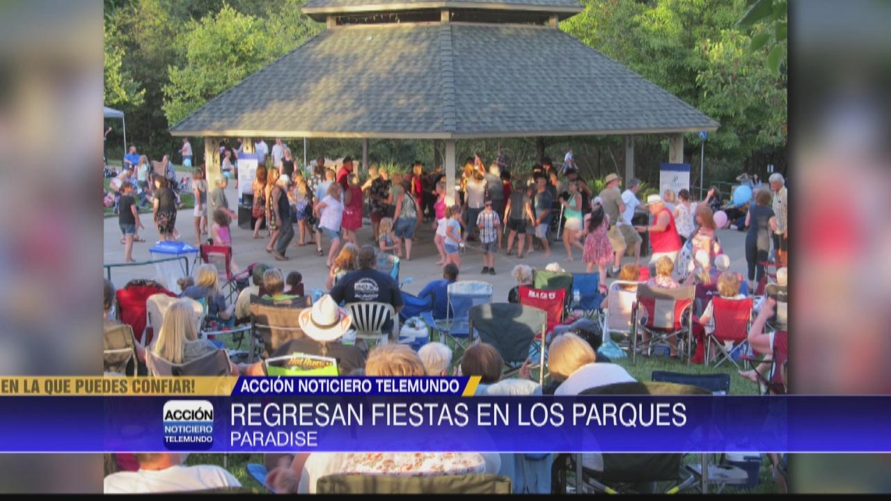 Image for Fiestas regresan al parque comunitario de Paradise