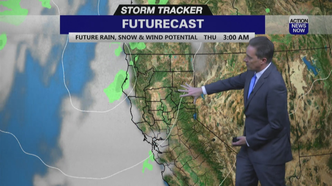 Image for Storm Tracker Forecast - Hotter Tuesday With More Wind Coming
