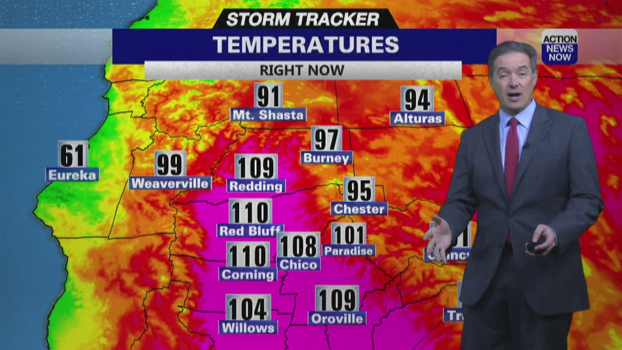 Image for Storm Tracker Forecast - Almost No Heat Relief Through Father's Day