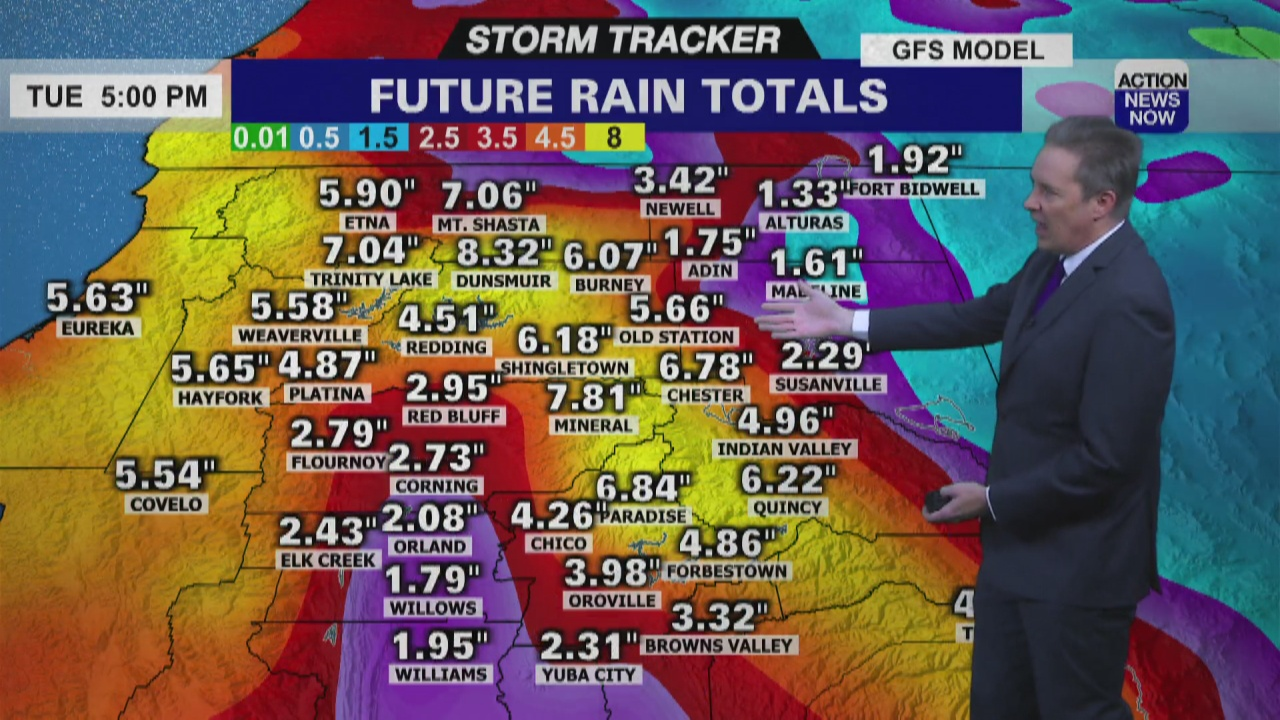 Image for Storm Tracker Forecast - Overnight Rain And A Stormy Long Term Forecast