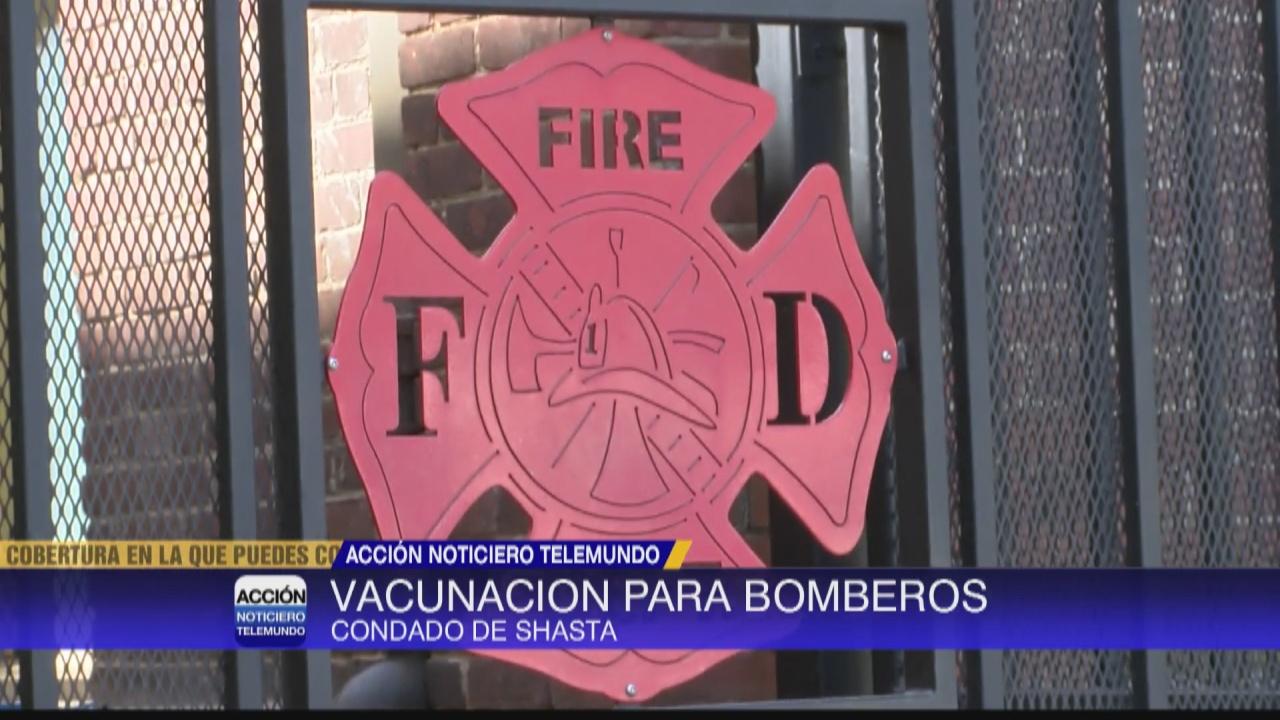 Image for Vacunas para bomberos combatiendo incendios