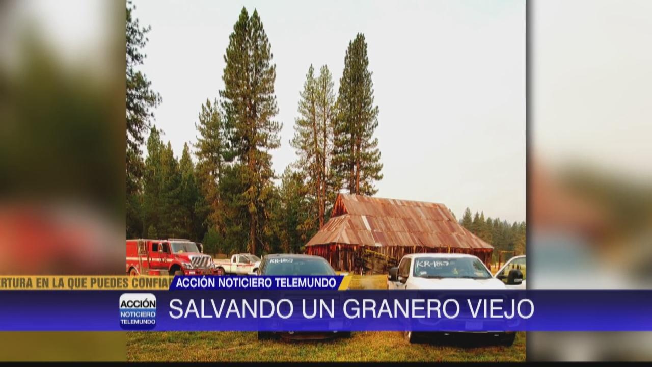 Image for Salvan granero histórico de incendio Dixie