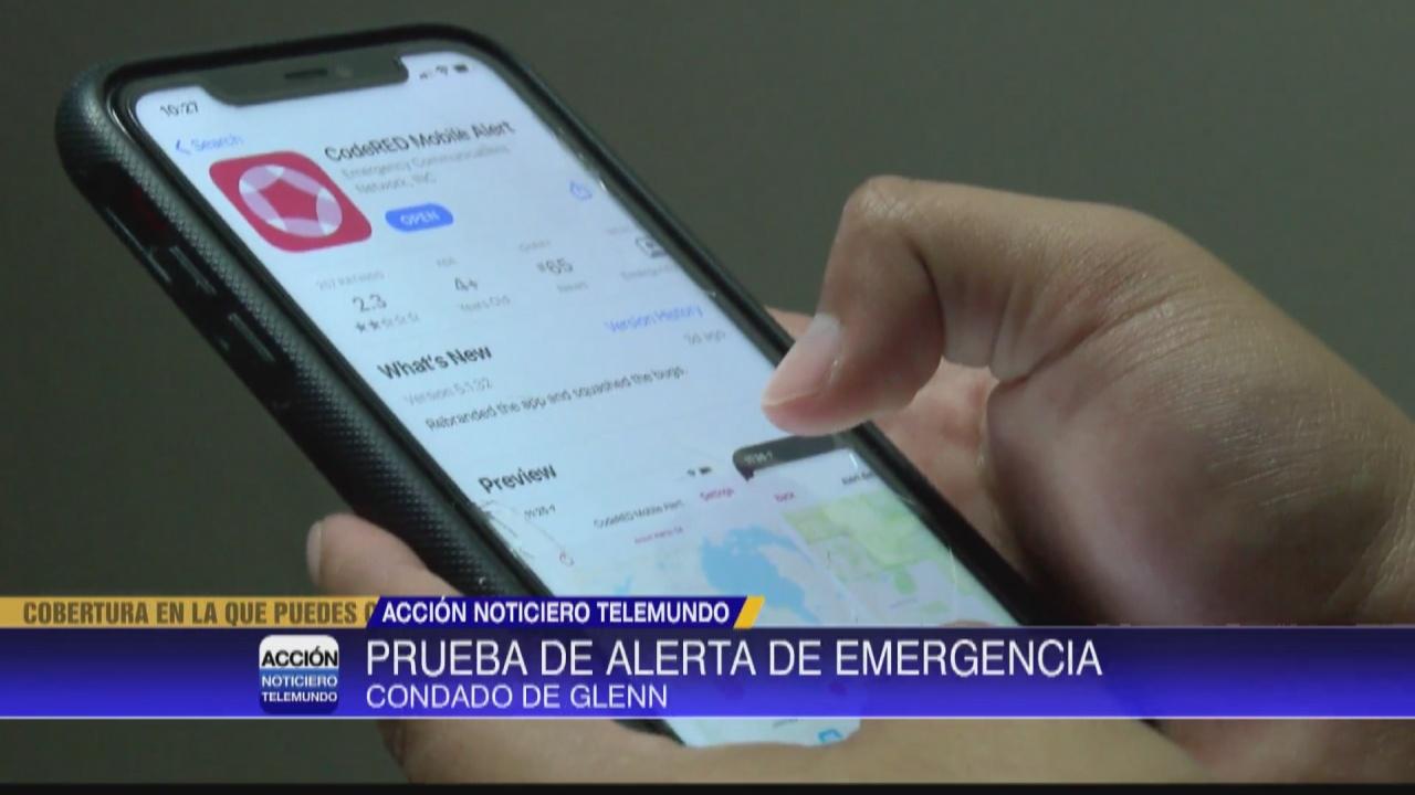 Image for Condado de Glenn probara su sistema de emergencia