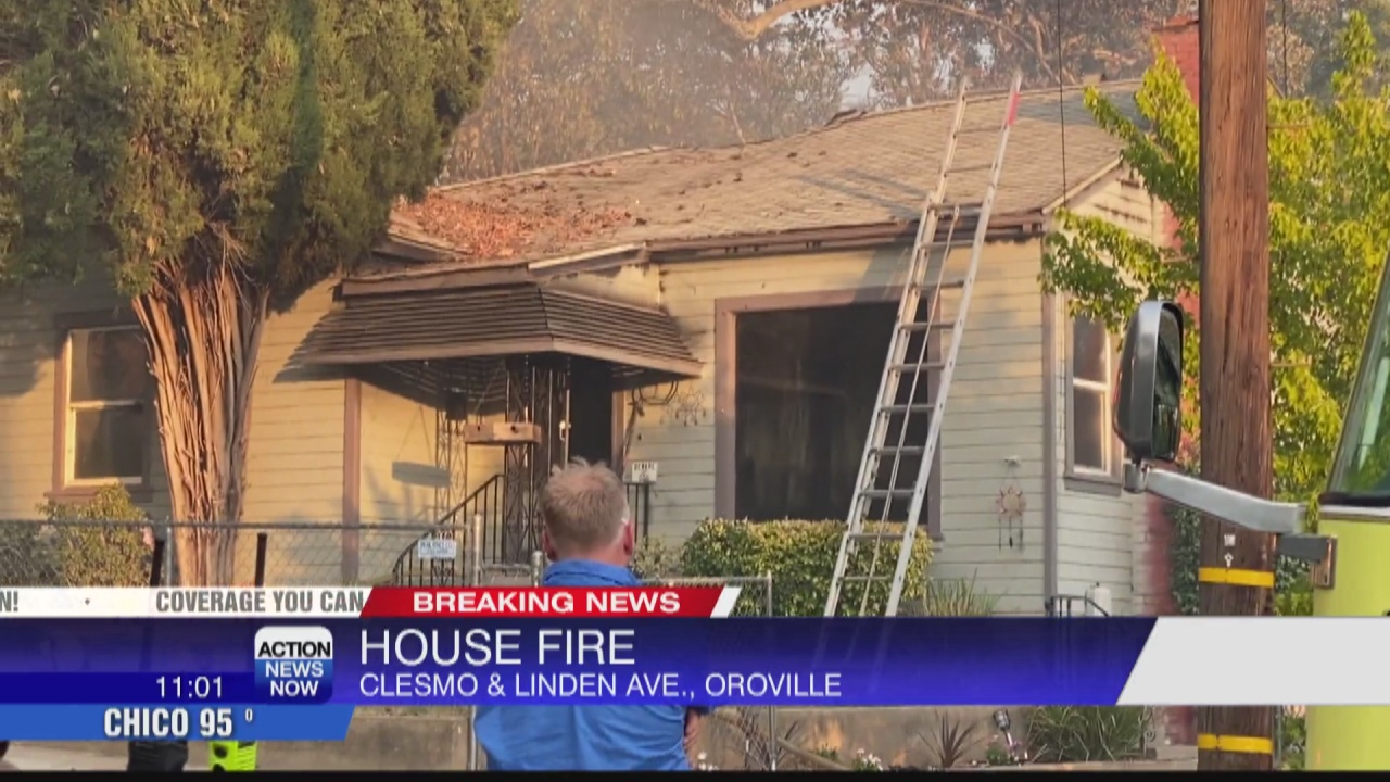 Image for Two dogs killed in Oroville house fire, neighbors jumped into action