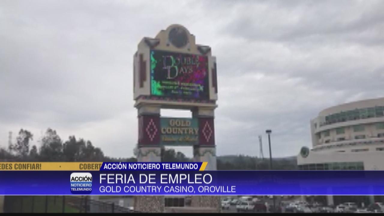 Image for Feria de Empleo en el casino Gold Country en Oroville