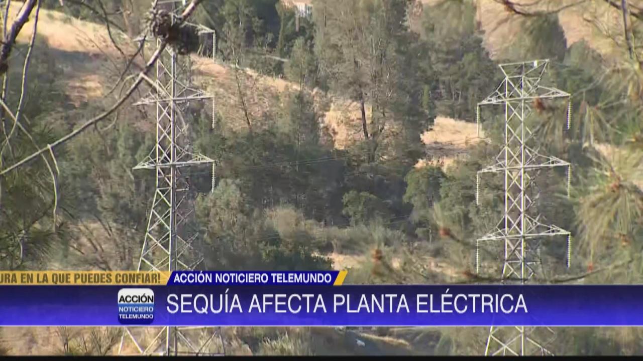 Image for Preocupación sobre sequia afectando planta eléctrica en Oroville