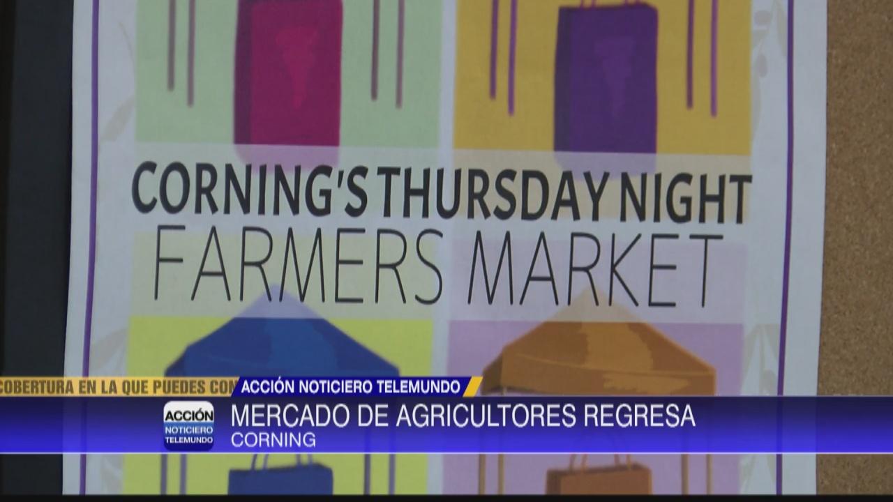 Image for Evento 'Thursday Night Farmers Market' regresa a Corning