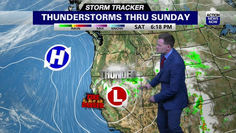 Image for Storm Tracker Forecast: Sunshine and warmth slowly returns on Sunday into Monday